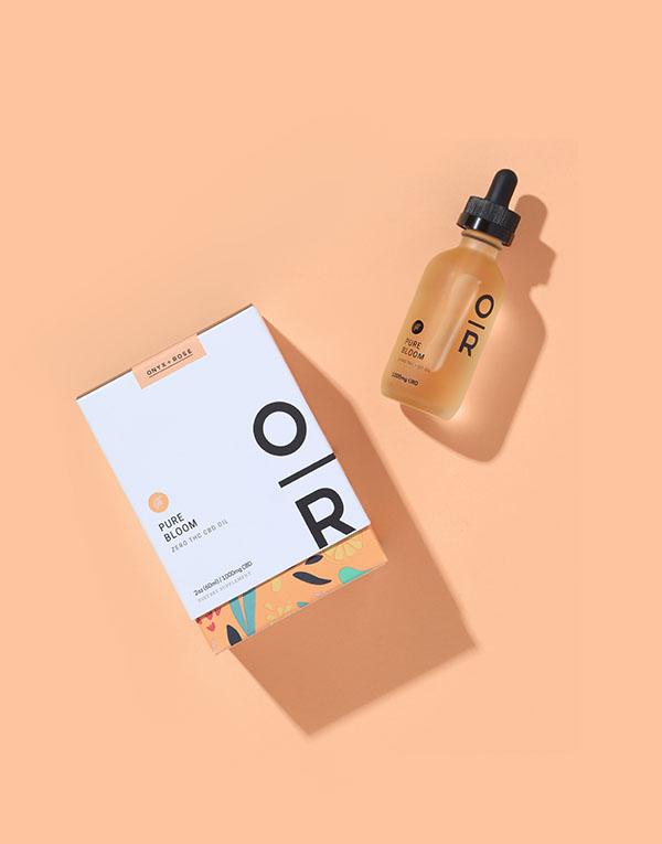 Pure Bloom Orange CBD Oil